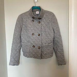 Cabi Quilted Gray Jacket Medium